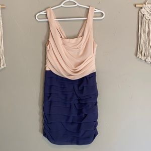 Express Dress - Pink/Purple Color Block